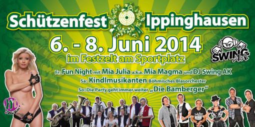 Schützenfest Wolfhagen Ippinghausen 2014