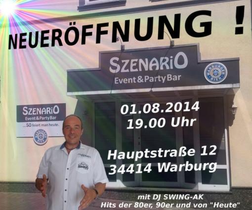 Neueröffnung Szenario Warburg