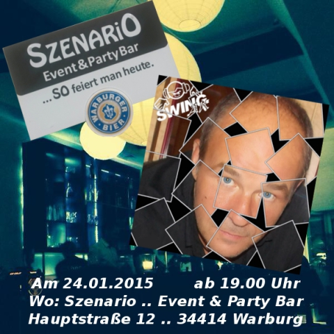 Party Szenario 2015 mit DJ SWING-AK