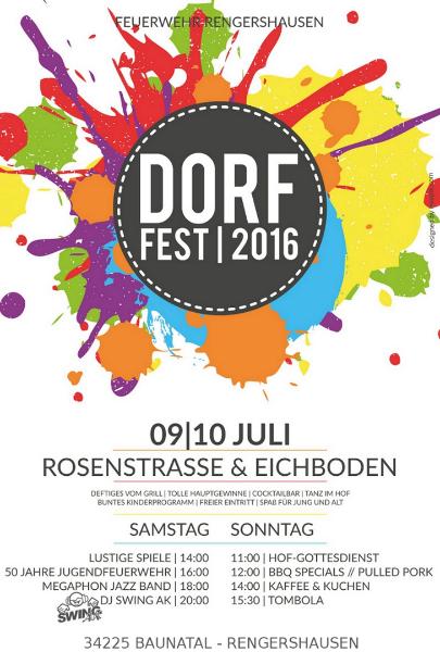 Dorffest 2016 Baunatal Rengershausen